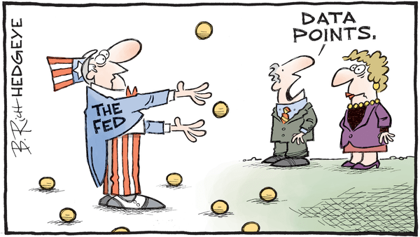 Cartoon of the Day: Balls - 10.11.2017 Fed data pts cartoon