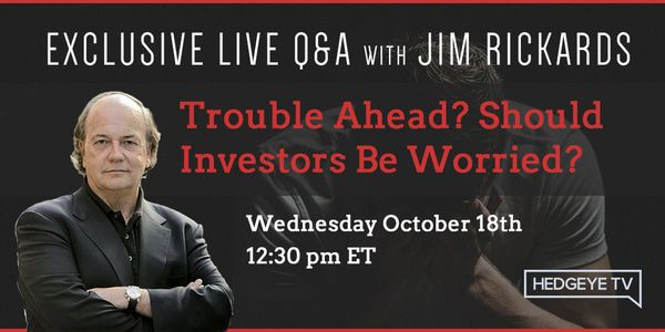 Trouble Ahead? An Exclusive Q&A with Jim Rickards - HE rickards live email graphic OCT2017