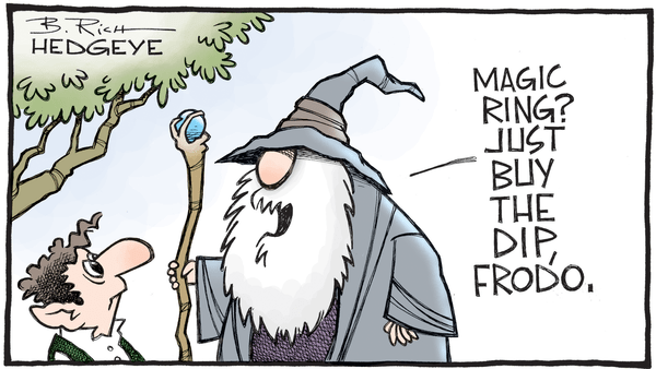 10 Cartoons Capture This Epic Bull Market - 10.02.2017 buy the dip Frodo