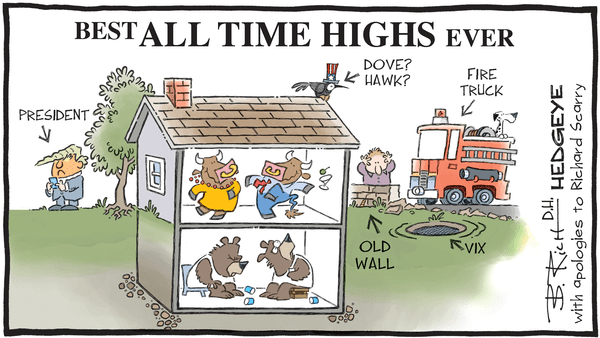 10 Cartoons Capture This Epic Bull Market - 10.06.2017 bull bear house