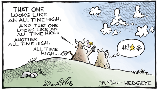 10 Cartoons Capture This Epic Bull Market - 11.07.2017 ATH clouds cartoon