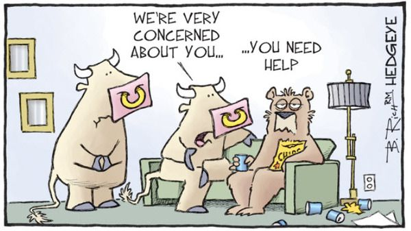 10 Cartoons Capture This Epic Bull Market - bull rug hedgeye