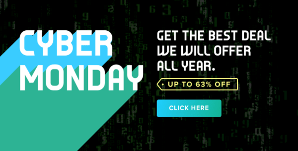 5 Charts & Trends Our Financials Team is Watching - Email graphic   Cyber Monday 2