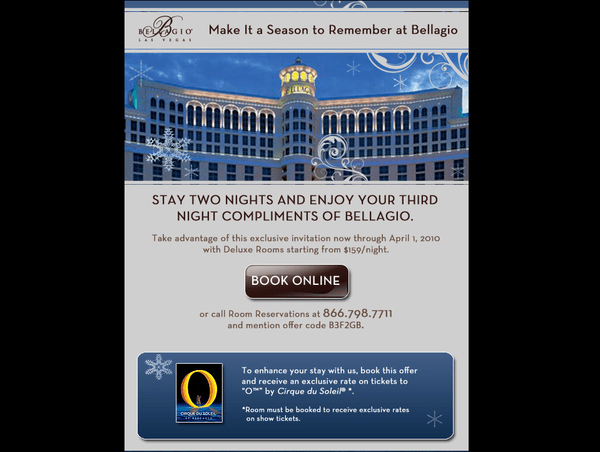 MGM: THE CONSENSUS SHORT - bellagio offer