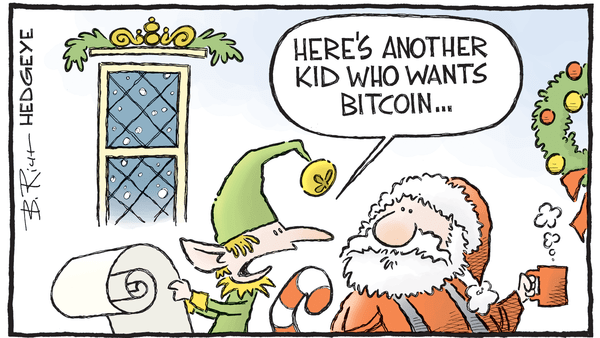 Cartoon of the Day: Cha-Ching! - 12.18.2017 bitcoin cartoon