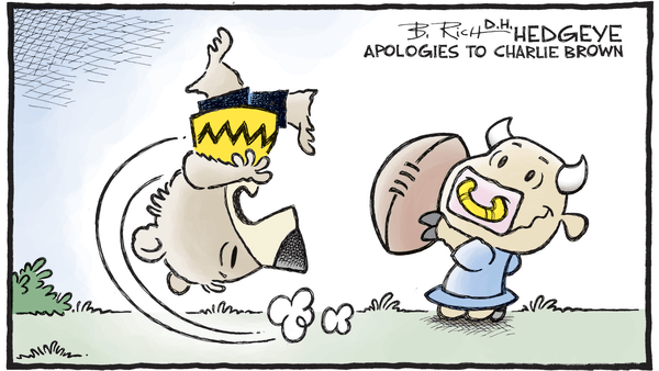 Cartoon of the Day: Aaugh! - 02.16.2018 Charlie Brown bear