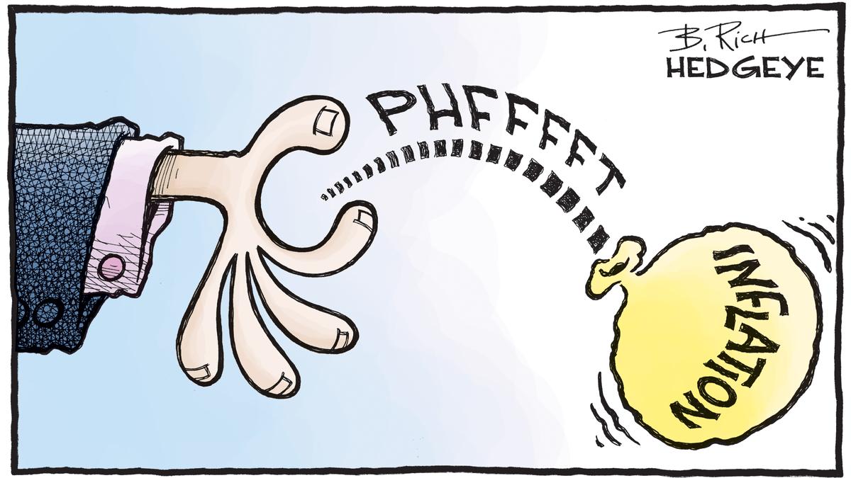 Risultato immagini per inflation hedgeye