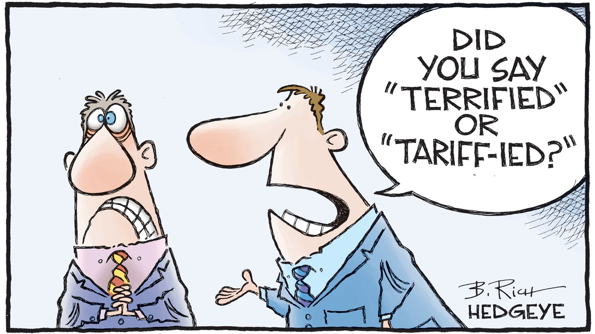 Tariff Cartoon Trumps Trade War With China
