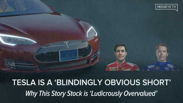 *ICYMI* 3 Reasons Why Tesla = 'Blindingly Obvious Short' - Tesla Webcast 3 22 2018