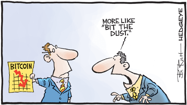 Cartoon of the Day: Another One Bites the Dust - 04.06.2018 bit the dust coin cartoon