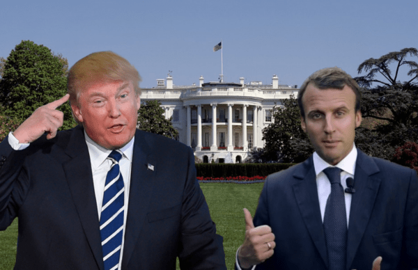 "Iran Oil Sanctions Still Expected Despite Macron Push for ""New Deal"" - trump macron1"