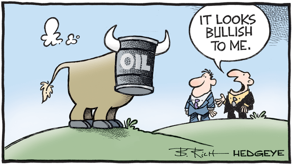 Cartoon of the Day: Bullish Oil - 04.26.2018 oil cartoon