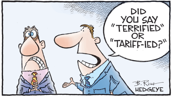 JOIN US FOR AN EXCLUSIVE CONFERENCE CALL WITH THE FORMER US AMBASSADOR TO CHINA  - 03.05.2018 tariff cartoon