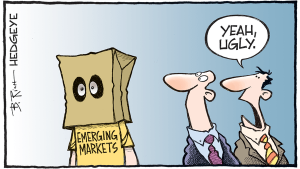 Cartoon of the Day: U-G-L-Y - 05.15.2018 ugly emerging markets cartoon