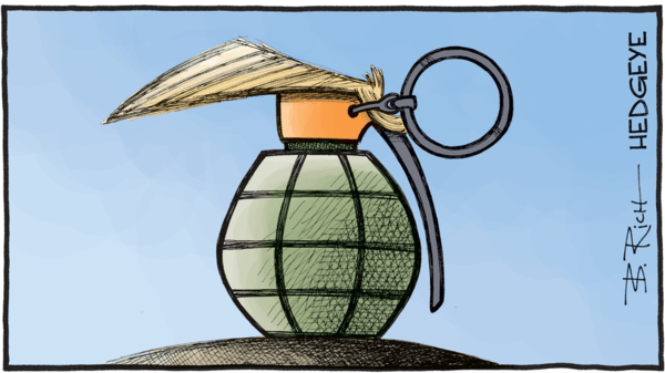 [From The Vault] Cartoon of the Day: Trump Grenade - Trump cartoon 11.14.2016