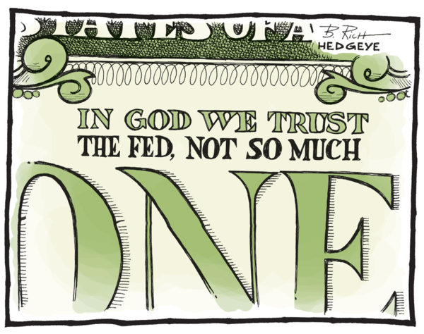 It's A Dollar Double Whammy, Just Not Theirs - dollar cartoon 07.02.2014