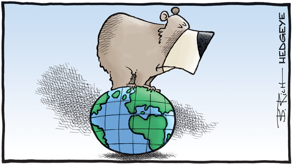 Cartoon of the Day: On Top of the World - 06.21.2018 bear and World cartoon