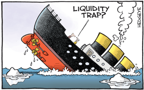 Liquidity Traps and Interest Rate Ceilings - liquidity trap cartoon 01.25.2016