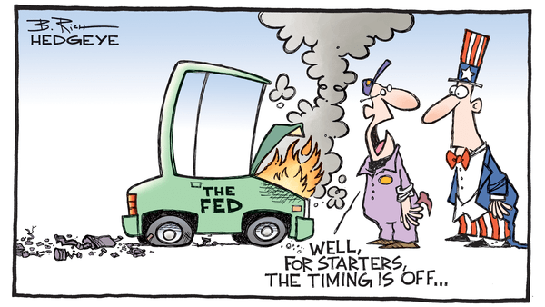 "Cartoon of the Day: ""Market Timing"" - 07.09.2018 Fed cartoon"