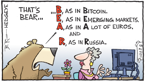 Cartoon of the Day: B-E-A-R - 08.09.2018 spell bear cartoon