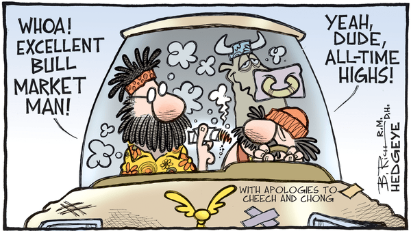 Cartoon of the Day: Up In Smoke? - 08.23.2018 All time highs