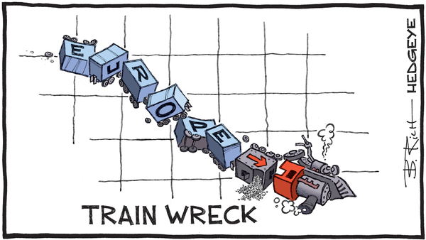 Cartoon of the Day: Train Wreck - 08.31.2018 Europe train wreck cartoon