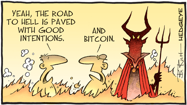 Cartoon of the Day: Road to Hell - 09.24.2018 Bitcoin road to hell cartoon