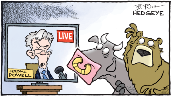"The Fed Chair Says We're In ""Extraordinary Times"" - fed hedgeye"