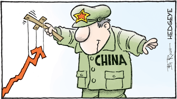 China's Economy Is Slowing... Keep An Eye On This Indicator - 01.26.2018 China cartoon