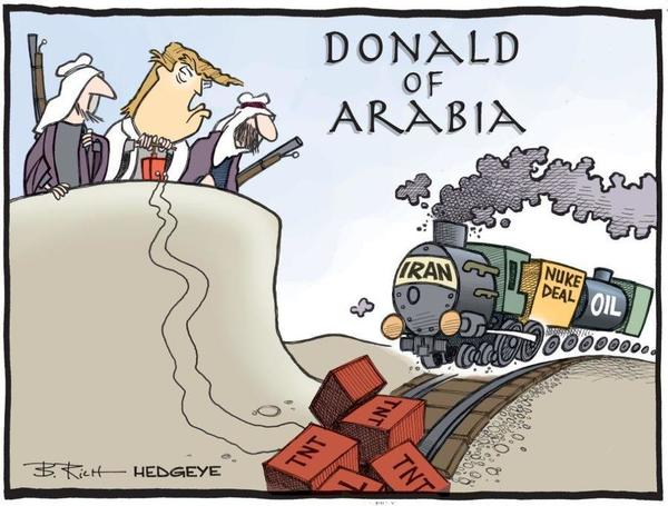 5-Day Countdown to US Sanctions on Iran Oil  - z hedgeye trump