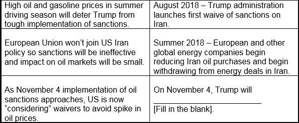 5-Day Countdown to US Sanctions on Iran Oil  - zcha2