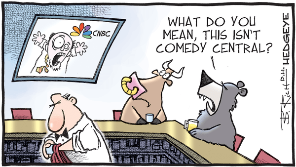 Cartoon of the Day: Where's the Remote? - 11.07.2018 CNBC cartoon