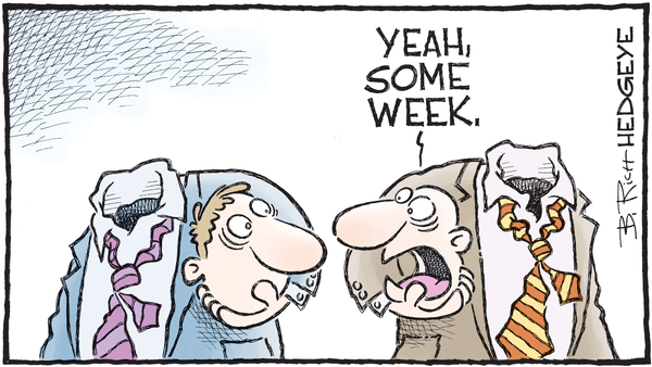 "Why We Said There Was A ""Huge Selling Opportunity"" In The Stock Market - 02.09.2018 some week cartoon"