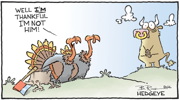 Cartoon of the Day: Thankful - 11.21.2018 thankful turkeys cartoon