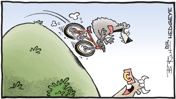 8 Important Market Observations From Keith McCullough - 10.23.2018 bear on a bike cartoon  1