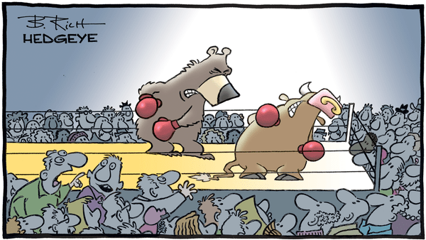 Cartoon of the Day: In The Ring - Bull and bear boxing2.0
