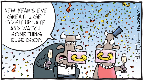 Cartoon of the Day: Happy (Almost) New Year! - 12.31.2018 NEW YEAR S CARTOON
