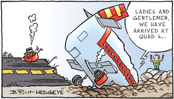 Inside Apple's Selloff... Were You Prepared For The #Quad4 Hurricane?  - 11.19.2018 Quad 4 cartoon