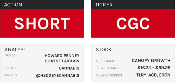 Stock Report: Canopy Growth (CGC) - HE CGC table 01 07 19