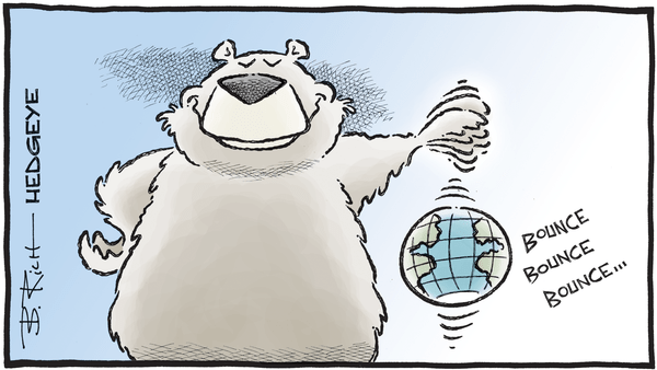 Chart of the Day: Global Growth Ends 2018 On The Lows - 12.12.2018 bear bouncing world cartoon