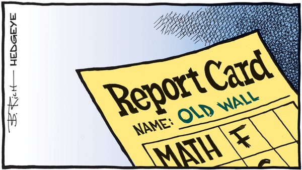 Cartoon of the Day: Old Wall - 01.11.2019 Old Wall report card cartoon