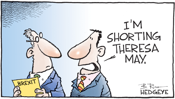 Cartoon of the Day: Shorting May - 01.16.2019 BREXIT cartoon
