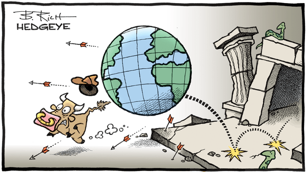 A Bearish Reality Check After 9 Straight Quarters of U.S. #GrowthAccelerating - 01.03.2019 Indiana Jones bull cartoon