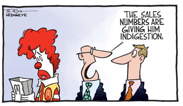 McDonald's $MCD: New Best Idea Short Call  - z McDonalds cartoon 12.08.2014