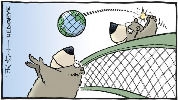 Cartone animato del giorno: Bear Ball - 02.06.2019 fumetto degli orsi della pallavolo