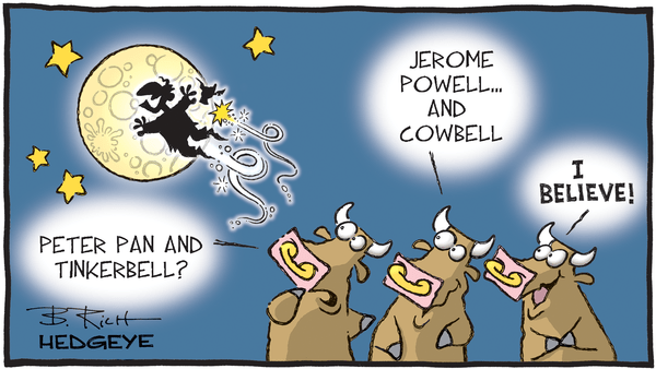 Cartoon of the Day: Peter Pan (Or Jerome Powell)? - 02.22.2019 Powell Peter Pan cartoon
