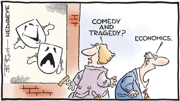 Cartoon of the Day: Theater of the Absurd - 02.27.2019 economic Greek masks cartoon