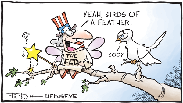 Cartoon of the Day: Flock Together - 03.14.2019 FED cartoon