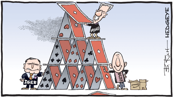 Netflix --> House of Cards: 30% Downside - Call Today - NETFLIX cartoon 01.01.2019