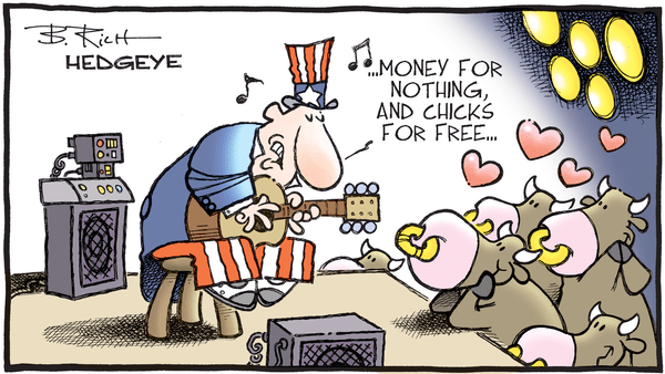 Investing Ideas Newsletter - 03.28.2019 money for nothing cartoon